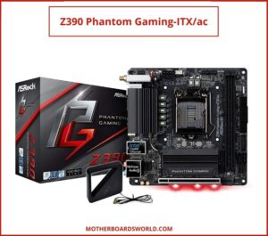 ASRock Z390 Phantom Gaming mini itx motherboard for i7 9700k