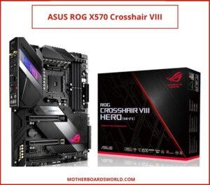 ASUS ROG X570 Crosshair VIII best AMD motherboard for 5000 series