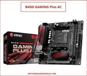 B450I GAMING Plus AC best gaming mobo ryzen 3600