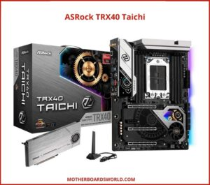 Best AMD Motherboard for Overclocking ASRock TRX40 Taichi