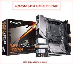 Best ITX Mobo for Ryzen 5 3600 Gigabyte B450I AORUS PRO WIFI