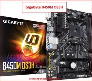 GIGABYTE B450M DS3H AM4 mobo ryzen 3600