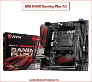 MSI B450I Gaming Plus AC motherboard