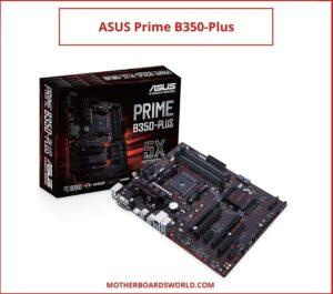 Ryzen 5 1500X motherboard ASUS Prime B350-Plus