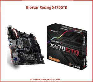 best amd ryzen motherboard Biostar Racing X470GT8