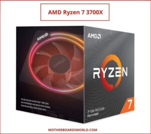 best processor for gaming 2021 AMD Ryzen 7 3700X