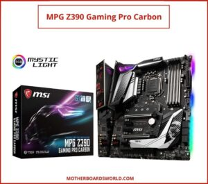 motherboard for an Intel Core i7-9700k z390